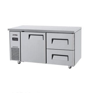 Turbo Air | Fridge & Freezer | KUR15-2: 2 Door or Turbo Air | Fridge & Freezer | KUF15-2: 2 Door