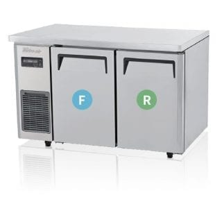 Turbo Air | Fridge & Freezer | KURF12-2: 2 Door