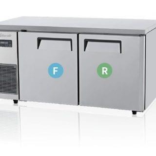 Turbo Air | Fridge & Freezer | KURF15-2: 2 Door