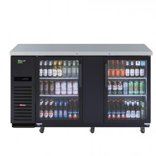 Turbo Air | Fridge | TBB-3SG: Glass or Turbo Air | Fridge | TBB-3SB: Black
